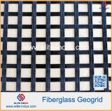 Precio pavimentado asfalto de Geogrid de la fibra de vidrio