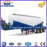 3車軸38cbmはバルクセメントか穀物またはユーティリティまたは粉の貨物交通機関のタンク車のトレーラー半乾燥する