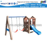 Juguetes de plástico para bebés con diapositiva oscilante y gol de baloncesto (HC-16409)