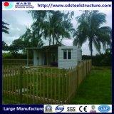 Estructura de acero Home panel sándwich de edificios prefabricados