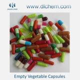 Différentes tailles de capsules de légumes vides