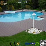 Material de construção Plástico de madeira para revestimento de plataforma compacta