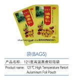 Plastik-Aluminiumfolie-Hochtemperaturretorte-Verpackungs-Beutel für Nahrung