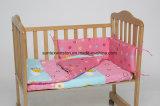 De Katoenen van 100% Reeksen van de Bumper voor Baby 3PCS Aet