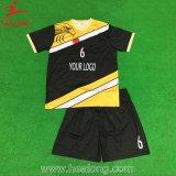 Healong MOQの完全な染料によって昇華させるサッカーのユニフォーム無し