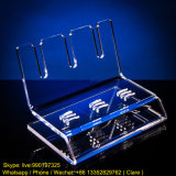 3 Slot Simple Clear Acrylic Stylos Display Stand Holder