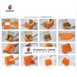 Design de qualité Vente à chaud Plein papier imprimé Matériau étagère Carton Stand d'affichage