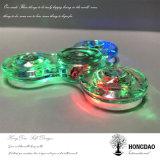 Hongdao Factory Low Price LED Finger Spinner, bastante estoque Hand Shinning Spinner Toys_D