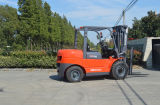 Mini chariot gerbeur diesel de 5 tonnes