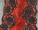 Шнурок цветка вышивки множественного цвета высокого качества эластичный для украшения