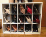 Wooden 백색 Stackable 15 입방체 Organizer Storage Cabinet