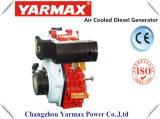Yarmax手の始動機または電気始動機の空気は4回の打撃の単一シリンダー海洋のディーゼル機関Ym186f Ym190fを冷却した