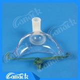 Медицинская PVC маски 100% Tracheostomy Disposible безопасная для утверждения OEM Dehp приспособлений скорой помощи свободно