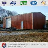 プレハブの構造スチールの木造家屋