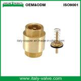 Clapet anti-retour de Vetrical de ressort en laiton de qualité d'OEM&ODM (AV5010-A)