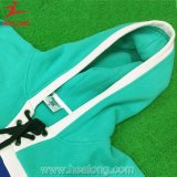 深く青く自由な様式の方法アイスホッケー暖かいHoody