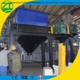 Strumentazione della trinciatrice per i rifiuti solidi della gomma