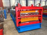 China três camadas do rolo frio da chapa de aço que dá forma à maquinaria