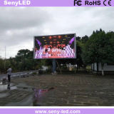 Tarjeta al aire libre de la muestra de P6 SMD LED para el anuncio video comercial
