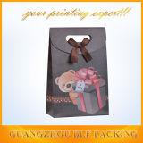 Compras de papel promocionales de encargo del paquete del bolso del regalo (BLF-PB091)