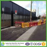 China Fábrica de suministro barato Negro Color Steel Fence Panel