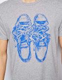 주문 남자의 면 형식에 의하여 인쇄되는 티 셔츠