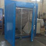 Máquina del secador del rectángulo del horno de las briquetas de la bola del carbón de leña para la venta