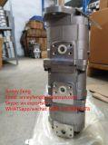 Bomba 705-55-13020 de la grúa del fabricante de la bomba de engranaje de KOMATSU para Lw100-1