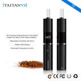 Vaporizador herbario seco del E-Cigarrillo de Contronl 1200mAh de la temperatura del Perilla-Estilo