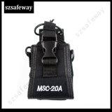 Sacchetto di cuoio di caso di Msc-20A per la radio bidirezionale