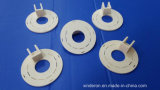 Componentes de cerámica del alúmina con trabajar a máquina excelente del CNC