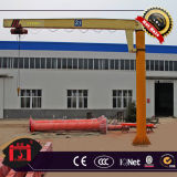 Grue de potence électrique de pilier de Fixe-Fléau d'élévateur
