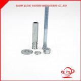 Boulon d'anchrage galvanisé d'ascenseur d'expansion avec la rondelle et la noix