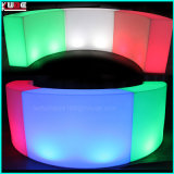 LED Snake Bar Luminous Round Bar LED Wine Display