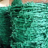 De Omheining van het Netwerk van het Prikkeldraad van het scheermes (heet ondergedompeld of roestvrij blad)