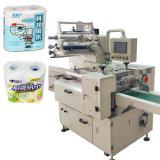 Máquina de embalagem de toalha de cozinha gravada em papel