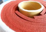 Feuille proche d'éponge de silicones de cellules, feuille de mousse de silicones, double tissu d'impression, 1-50mm x 0.1-1.5m X 1-10m
