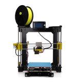 上昇の安い高品質のアクリルのFdm 210*210*225mmのデスクトップ3D印字機