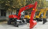 Nuevo excavador hidráulico de la rueda de Baoding del precio competitivo del excavador de China