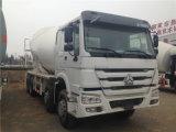 2018년 중국 HOWO 8m3 구체 믹서 트럭