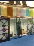 Ventanas decorativas de la iglesia del vitral con la fábrica de cristal de Guangzhou