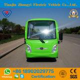 Venta directa de fábrica de 14 asientos de coche Excursiones eléctrica verde
