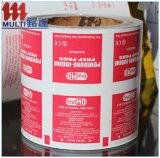 papel de papel de aluminio 73GSM para las esponjas del alcohol