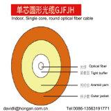 Un câble à fibre optique monocouche dans un équipement à fibre optique