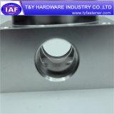 Pièce en aluminium de commande numérique par ordinateur personnalisée par dispositif de fixation particulier de qualité