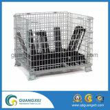 Type de suspension 1200X1000 Wire Mesh Palette Cage Roll Folding Box