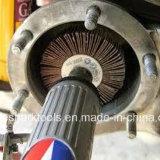 Roda abrasiva da aleta com o eixo para o aço