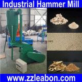 Moinho de martelo de madeira do triturador da filial da grama da palha de Agricultureal
