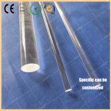 Quartzo transparente Rod usado no semicondutor