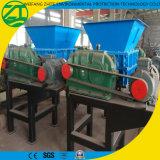 Trituradora Trituradora de doble eje para Madera / Neumáticos / espuma / plástico / residuos municipales / desechos médicos / Cocina Residuos / Chatarra